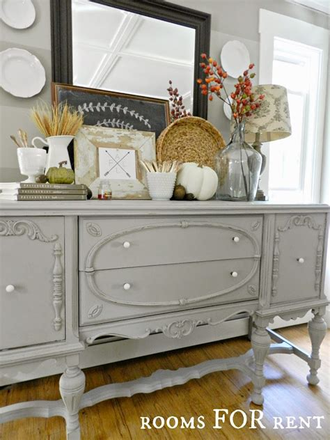 Antique Painted Sideboard by Painted Antique Buffet Reveal Rooms For Rent