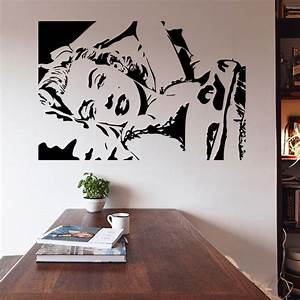 marilyn monroe wall decor quotes home design ideas With kitchen cabinets lowes with wall art marilyn monroe