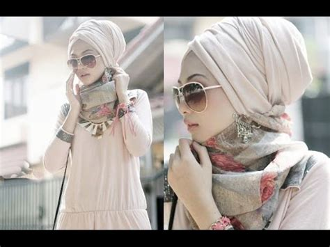 simple everyday hijab style modern hijab tying style