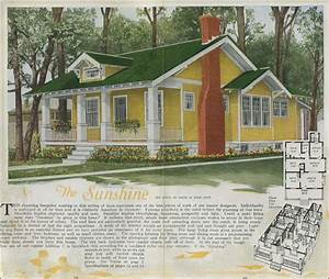 1920 House Plans - Classic Craftsman style bungalow - The