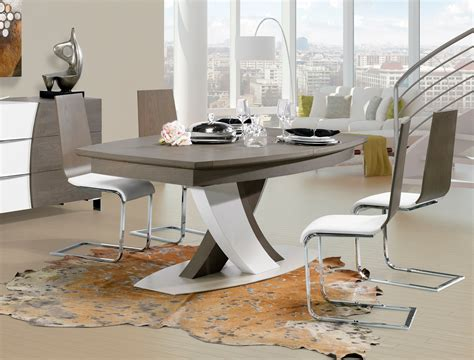 mobilier de bureau professionnel pas cher table carree pied central