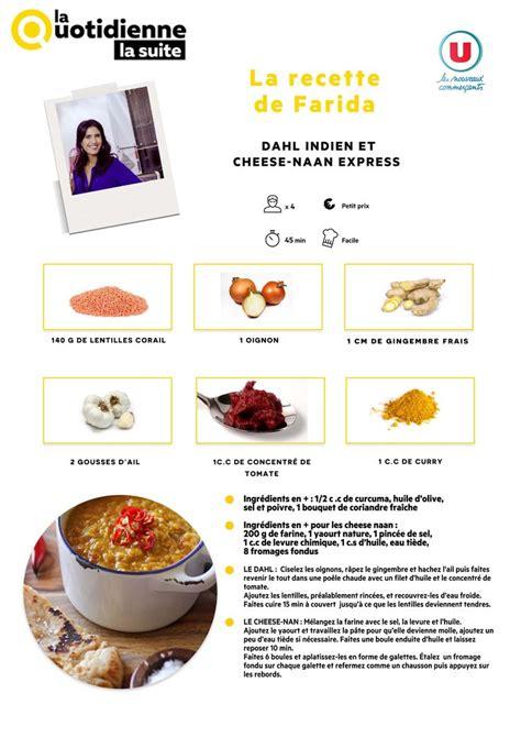 replay cuisine les recettes la quotidienne la suite 5