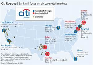 Citigroup Will Pare Back To Six Major Metro Areas