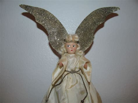 vintage angel tree topper shop collectibles online daily