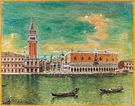 Asta Venezia Giorgio De Chirico Venezia Palazzo Ducale Prima Met 224