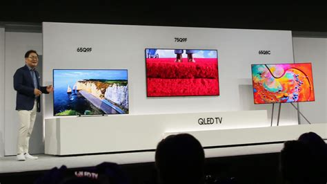 Tv Qled Samsung Samsung Qled Tvs Take On Oled With Style Improved Picture Cnet