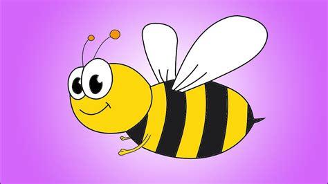 draw  cartoon bee step  step youtube