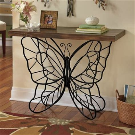 butterfly console table  ginnys jw