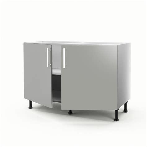 leroy merlin cuisine exterieure meuble de cuisine sous évier gris 2 portes délice h 70 x l