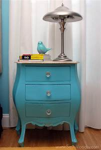 picture of antique nightstand revamp With table de nuit vintage