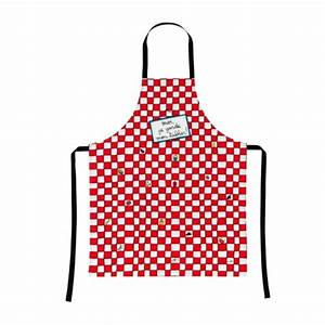 Tablier De Cuisine Femme : tablier cuisine je garde mon tablier rouge derri re la porte ~ Teatrodelosmanantiales.com Idées de Décoration