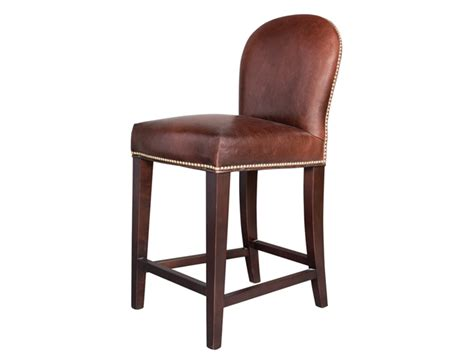 leather counter stool seating