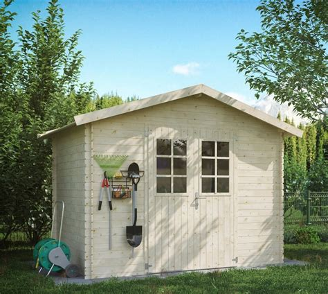 luoman gartenhaus 187 lillevilla 141 171 bxt 309x223 cm inkl aufbau und fu 223 boden kaufen otto