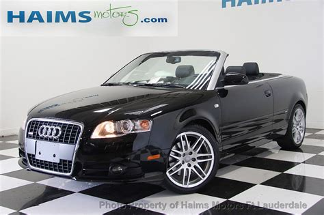 2009 Used Audi A4 2.0t Cabriolet Quattro At Haims Motors