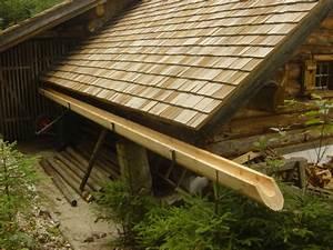 Dachrinne Selber Bauen : dachrinne aus holz dachrinne f r gartenhaus infos zu modellen und montage dachrinne aus holz ~ Buech-reservation.com Haus und Dekorationen