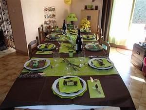 Deco Table Anniversaire 60 Ans : d coration de table pour anniversaire 50 ans ~ Dallasstarsshop.com Idées de Décoration
