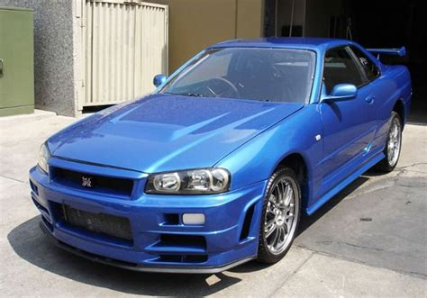 blue nissan skyline fast and furious fast and furious r34 nissan skyline hits ebay isn t