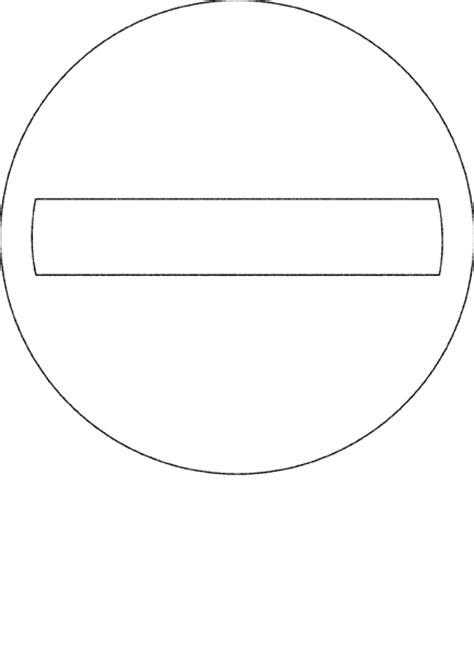 Verkeersborden Kleurplaat by Verkeersborden Kleurplaat 187 Animaatjes Nl
