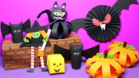 Easy Halloween Crafts For Kids  Halloween Craft Ideas