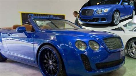 Chrysler, Ford Vehicles Transformed In Bentley Luxury Cars