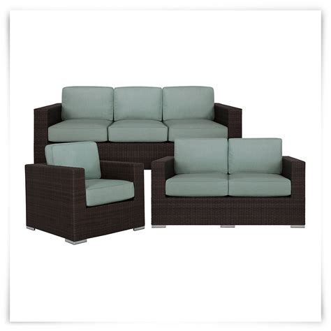 city furniture fina teal outdoor living room set