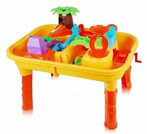 Table Jeux D Eau : table de jeu ext rieur 2 en 1 sable et eau petit prix ~ Melissatoandfro.com Idées de Décoration