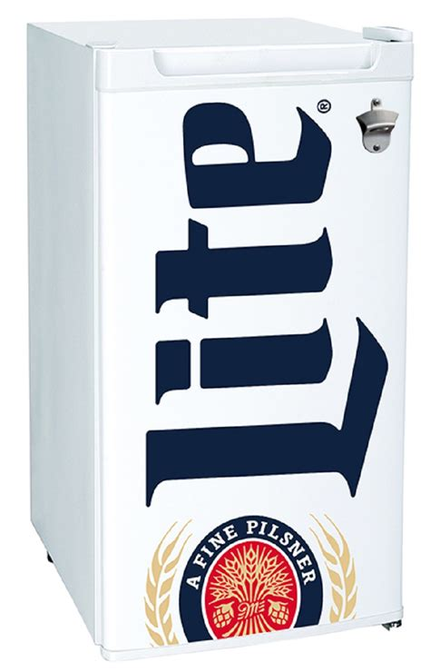 miller lite ml   compact fridge