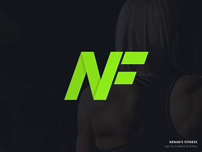 Fitness Personal Trainer Creative Brackets Training Nf