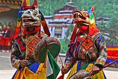 Bhutan Festival Festivals Culture Bhutanese Biggest Haa