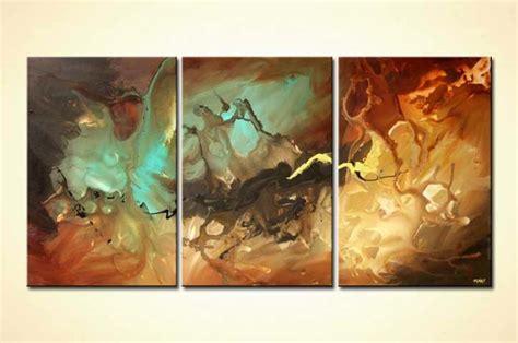 Triptych Home Decor Canvas Colorful