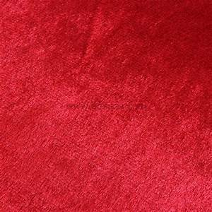 Tapis Peau De Bete : tapis peau de b te peluche rouge eminza ~ Dallasstarsshop.com Idées de Décoration