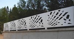 Métal à La Découpe : barriere metal decoupe laser ral 9010 ~ Dode.kayakingforconservation.com Idées de Décoration