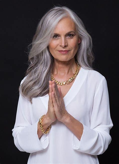 les  meilleures images du tableau cheveux gris blanc