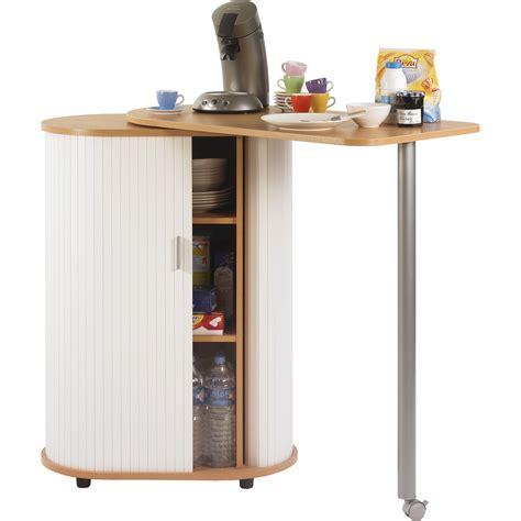 meuble de cuisine pour micro onde desserte de cuisine à rideaux avec plateau pivotant à prix