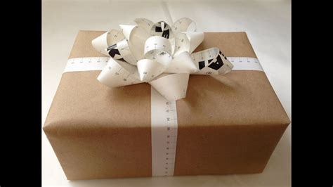 Gift Wrapping Basics  Natalie's Creations Youtube