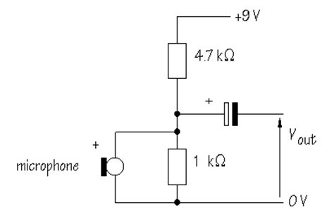 Electronic Hobby Circuits Simple Microphone Circuit Diagram