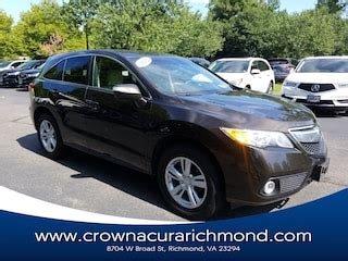 Crown Acura Of Richmond by Used Cars For Sale In Richmond