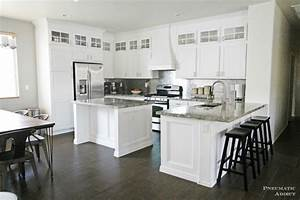 stacked cabinet kitchen makeover 1772