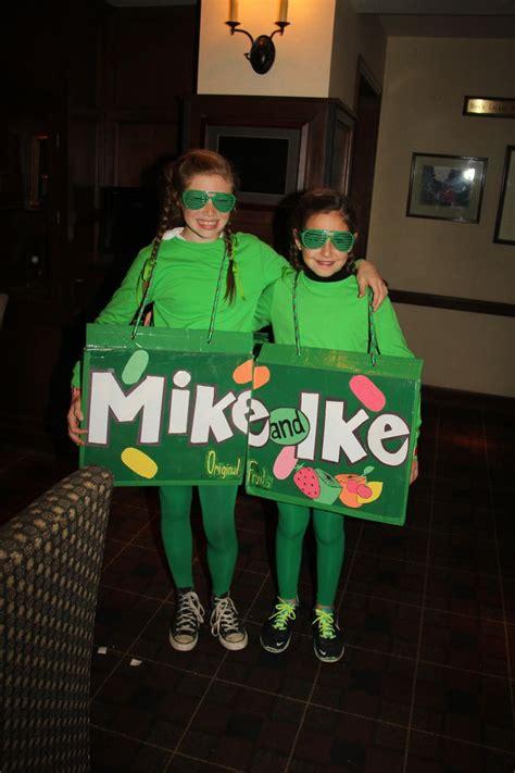 love homemade creative halloween costumes. Mike and Ike ...