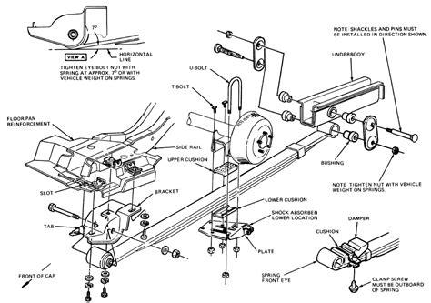 1996 Cadillac Rear Suspension Diagram by Repair Guides Rear Suspension Rear Suspension