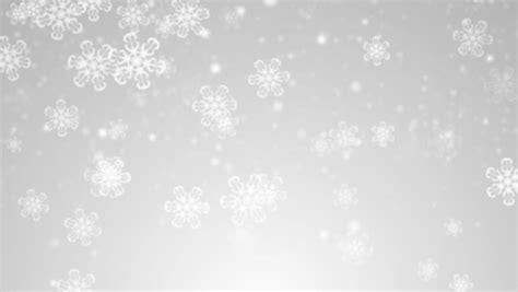 Gray Snowflake Background by Snowflakes Loop Grey Version
