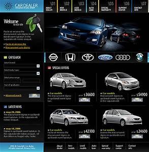 Auto Web : car auto dealer website templates ~ Gottalentnigeria.com Avis de Voitures