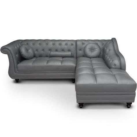 canap駸 chesterfield pas cher canape chesterfield gris maison design wiblia com