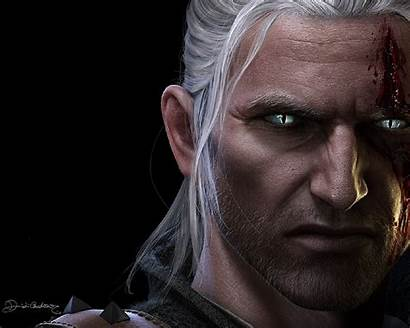 Geralt Rivia Witcher Wallpapers Wolf Characters Fictional
