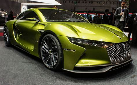 Ds E-tense Concept A Hot Little Electric Two-seater