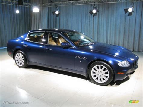 blue maserati 2006 dark blue maserati quattroporte 18514499 photo 3