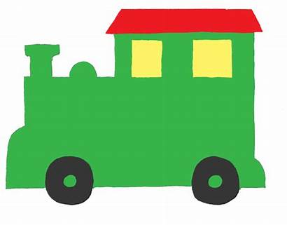 Train Template Birthday Clipart Printable Outline Templates