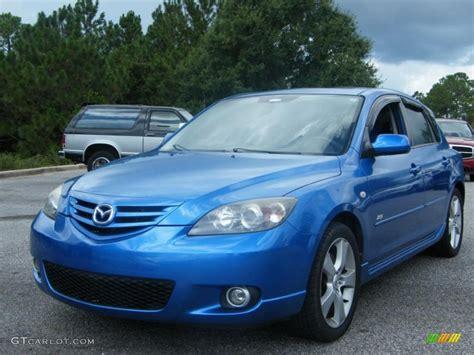 2006 Winning Blue Metallic Mazda Mazda3 S Hatchback