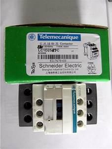 Lc1d25 25a  220v Schneider Contactor  Lc1