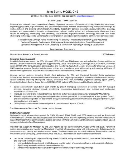 Top Level Management Resume by 49 Best Images About Management Resume Templates Sles On Click Exles And